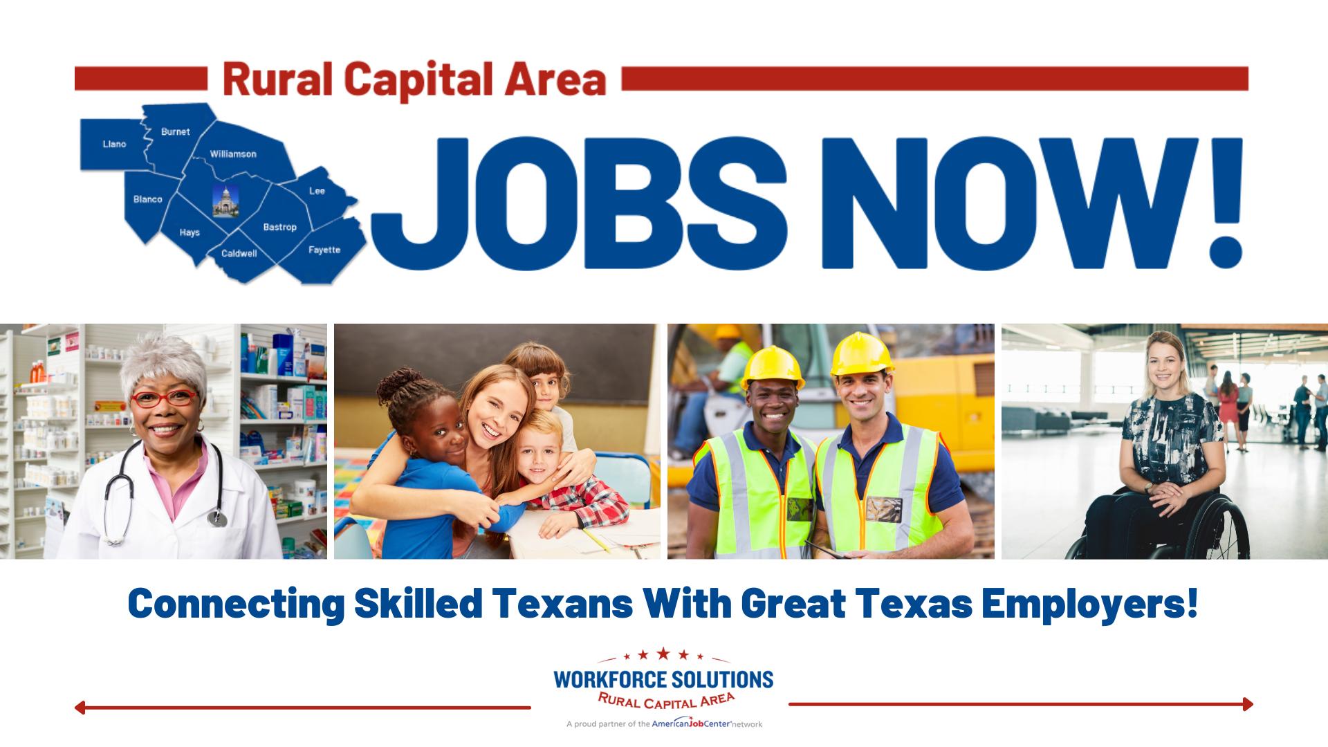 Rural Capital Area Jobs Now