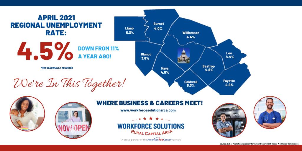 WSRCA April 2021 Labor Market Release