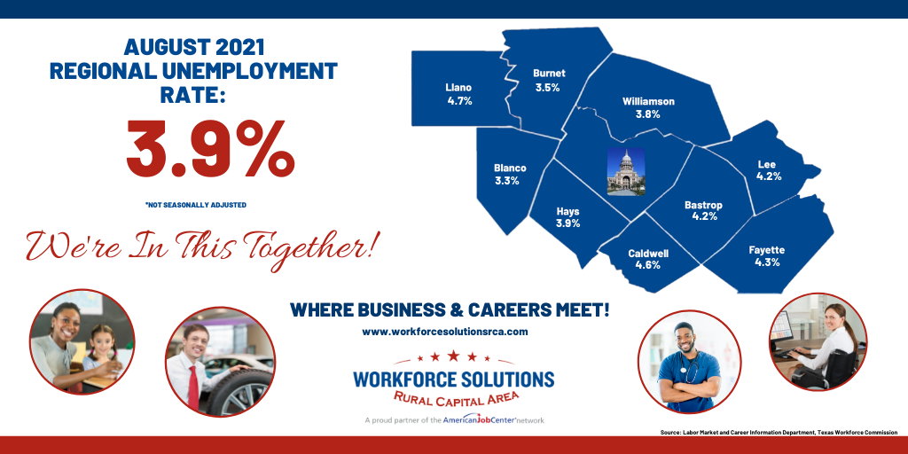 WSRCA August 2021 Labor Market Report