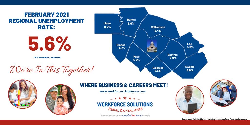 WSRCA February 2021 Labor Market Data