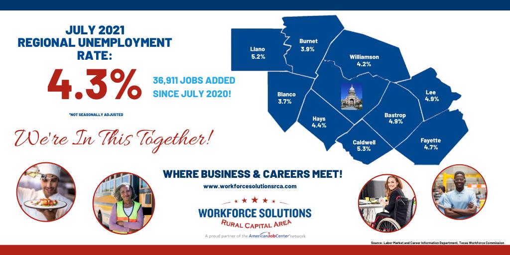 WSRCA July 2021 Labor Market Report