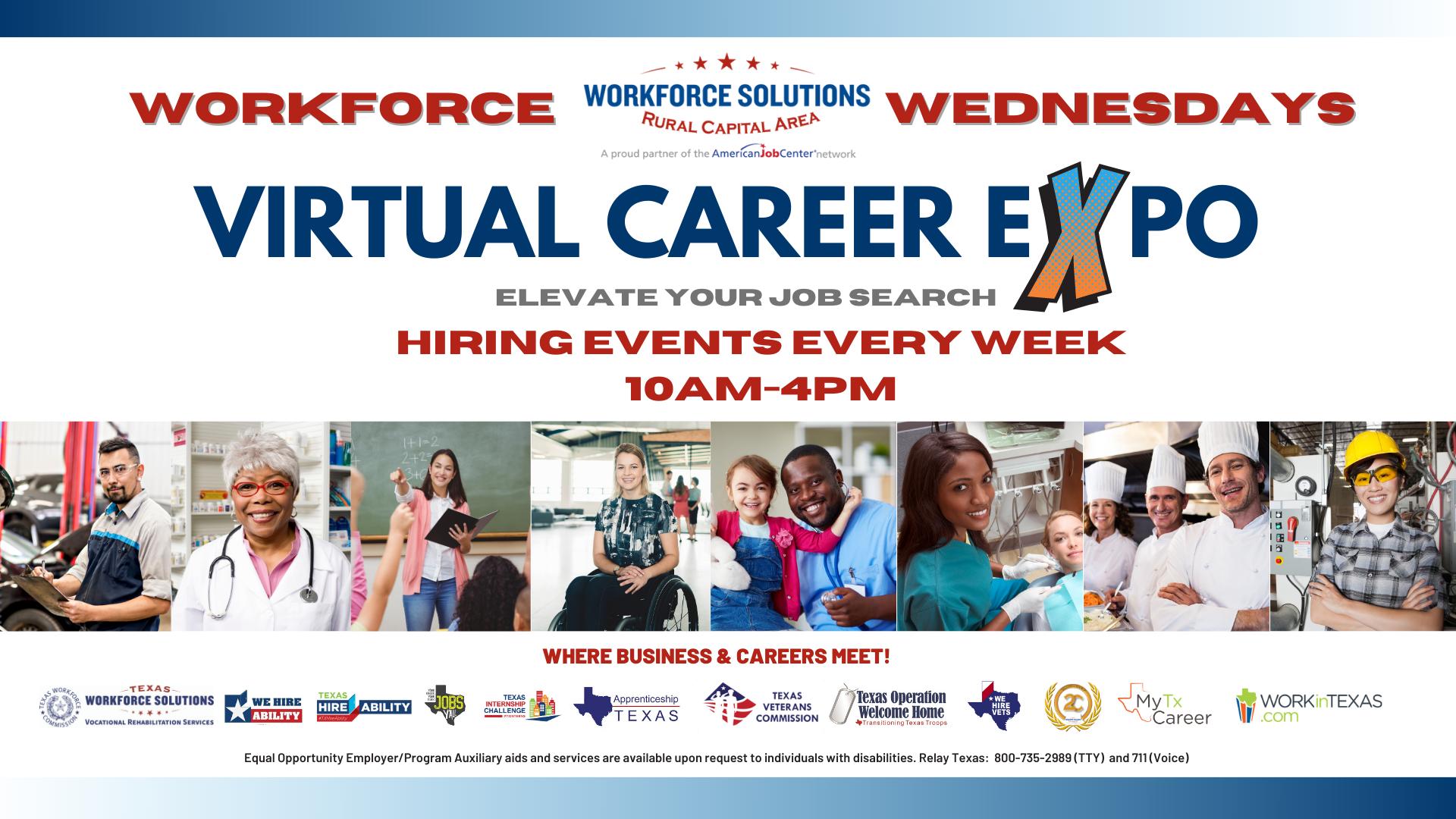 Workforce Wednesdays Virtual Career Expo