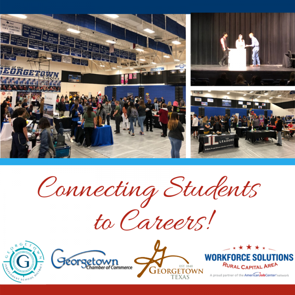 WSRCA Team Connects Students to Careers at 5th Annual Georgetown ISD Youth Career & Job Fair