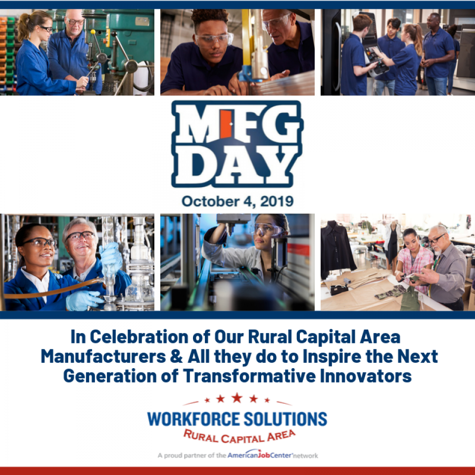 WSRCA Celebrates Rural Capital Area Manufacturers, Help Connects Students to Careers on Manufacturing Day