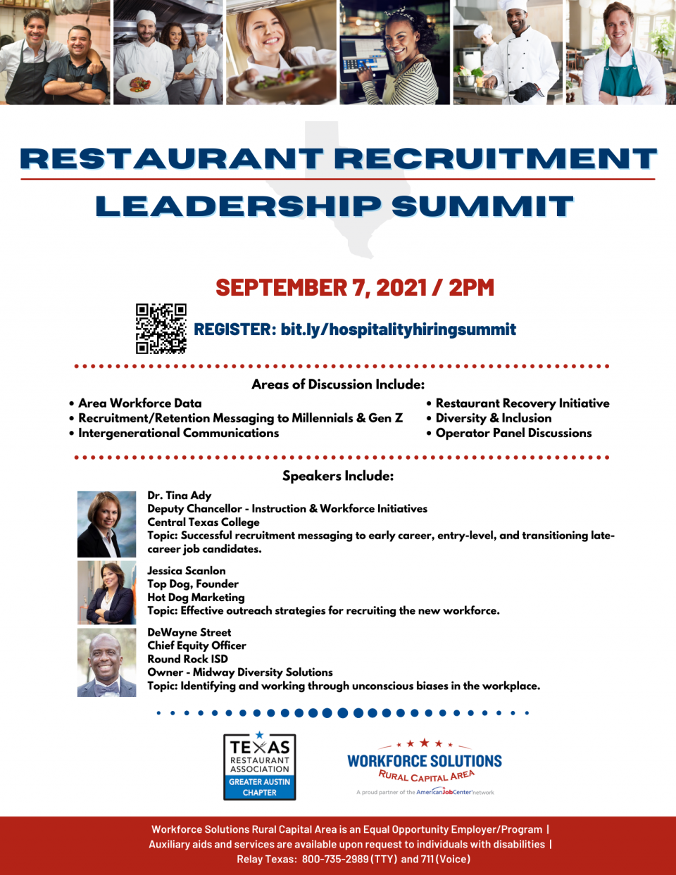 Explore Recruiting & Retention Strategies: Take Part in the Restaurant Recruitment Leadership Summit on Sept. 7