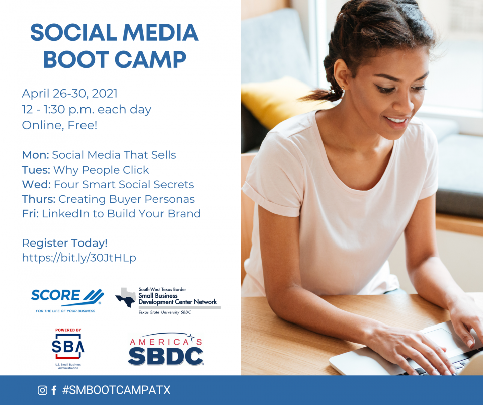 Learn from the Experts: Attend the Free Social Media Boot Camp