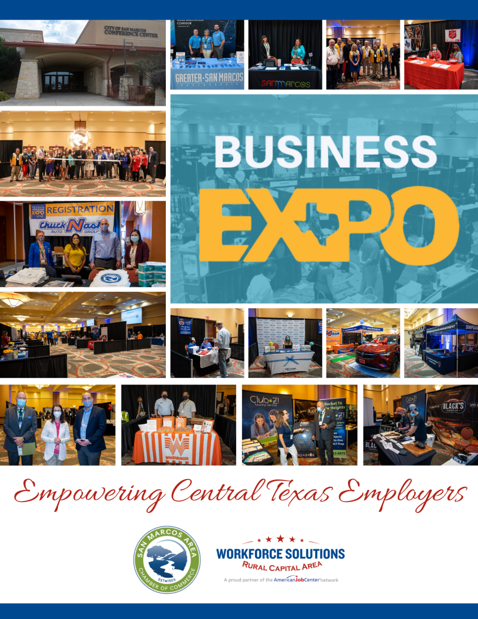WSRCA Proud to Empower Employers at 35th Annual San Marcos Chamber Business EXPO