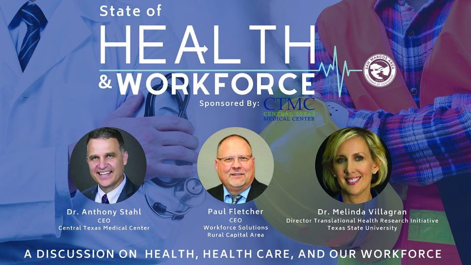 WSRCA CEO Paul Fletcher to Deliver Keynote at State of Health & Workforce Luncheon in San Marcos