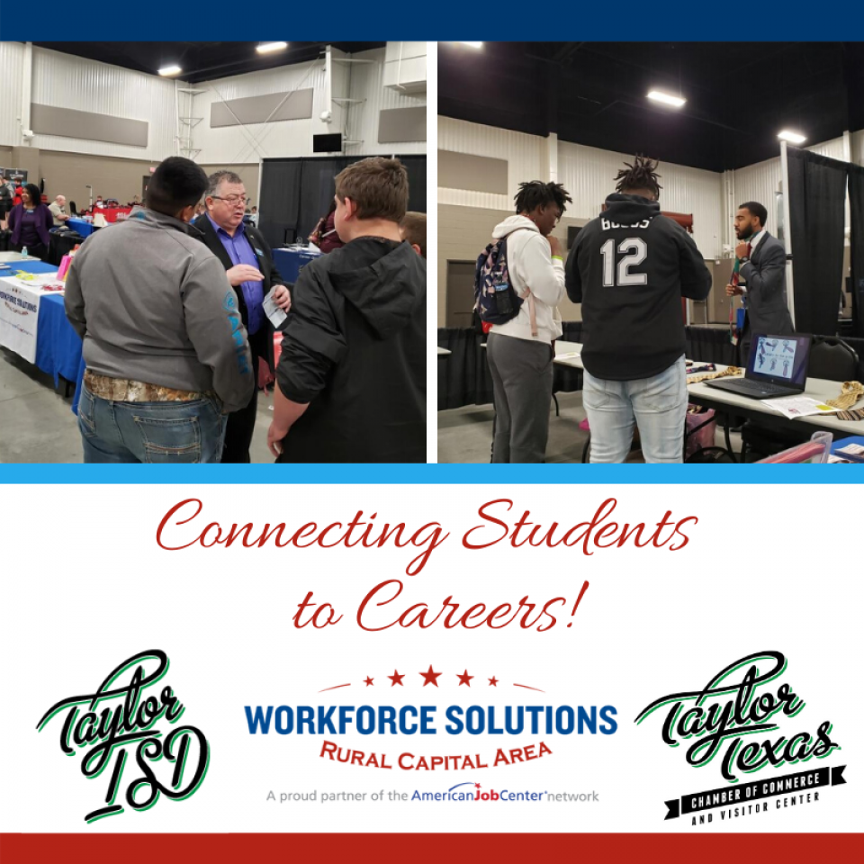 WSRCA Team Helps Connect Students to Careers at Taylor Trades Day