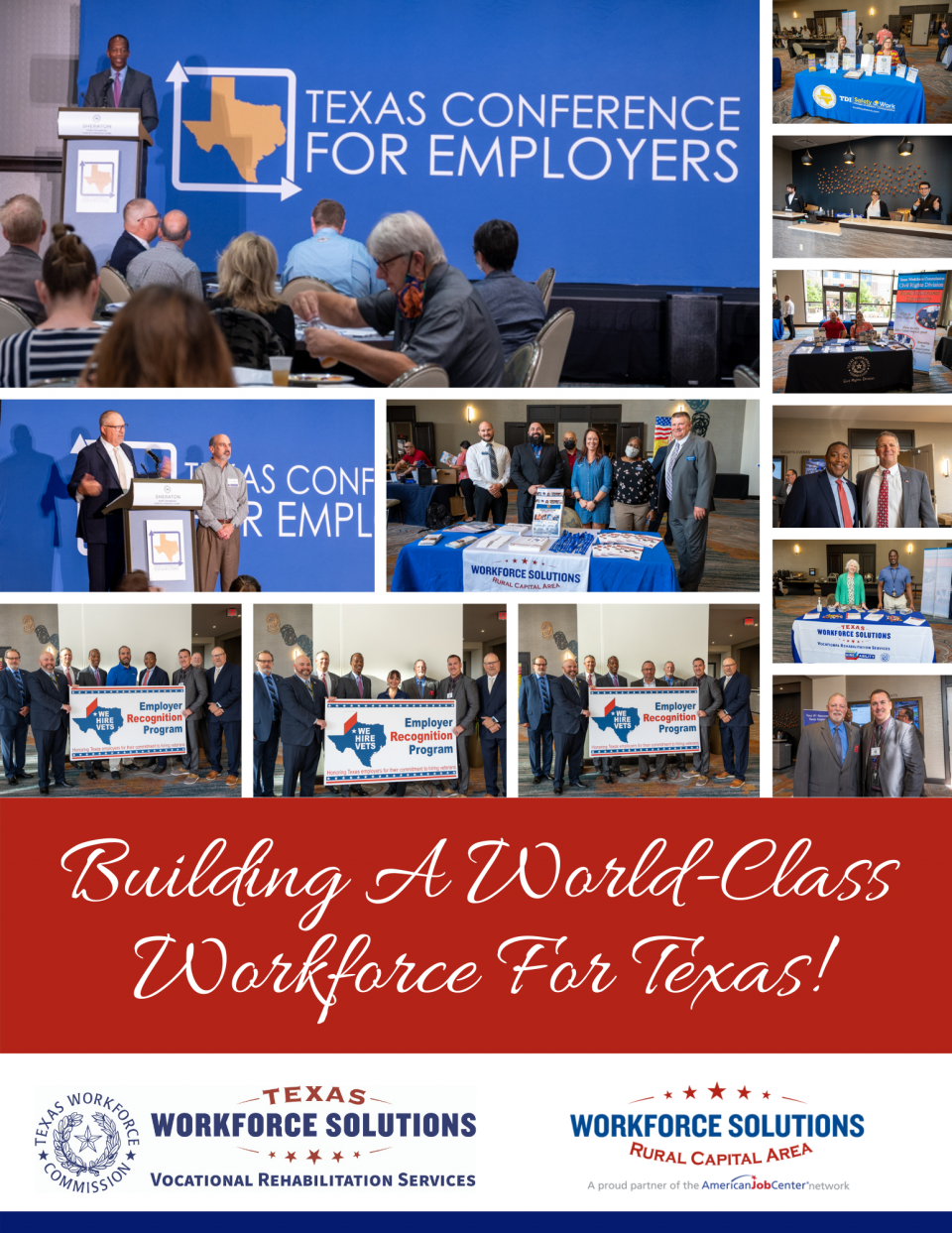 WSRCA Welcomes Texas Conference for Employers to Georgetown