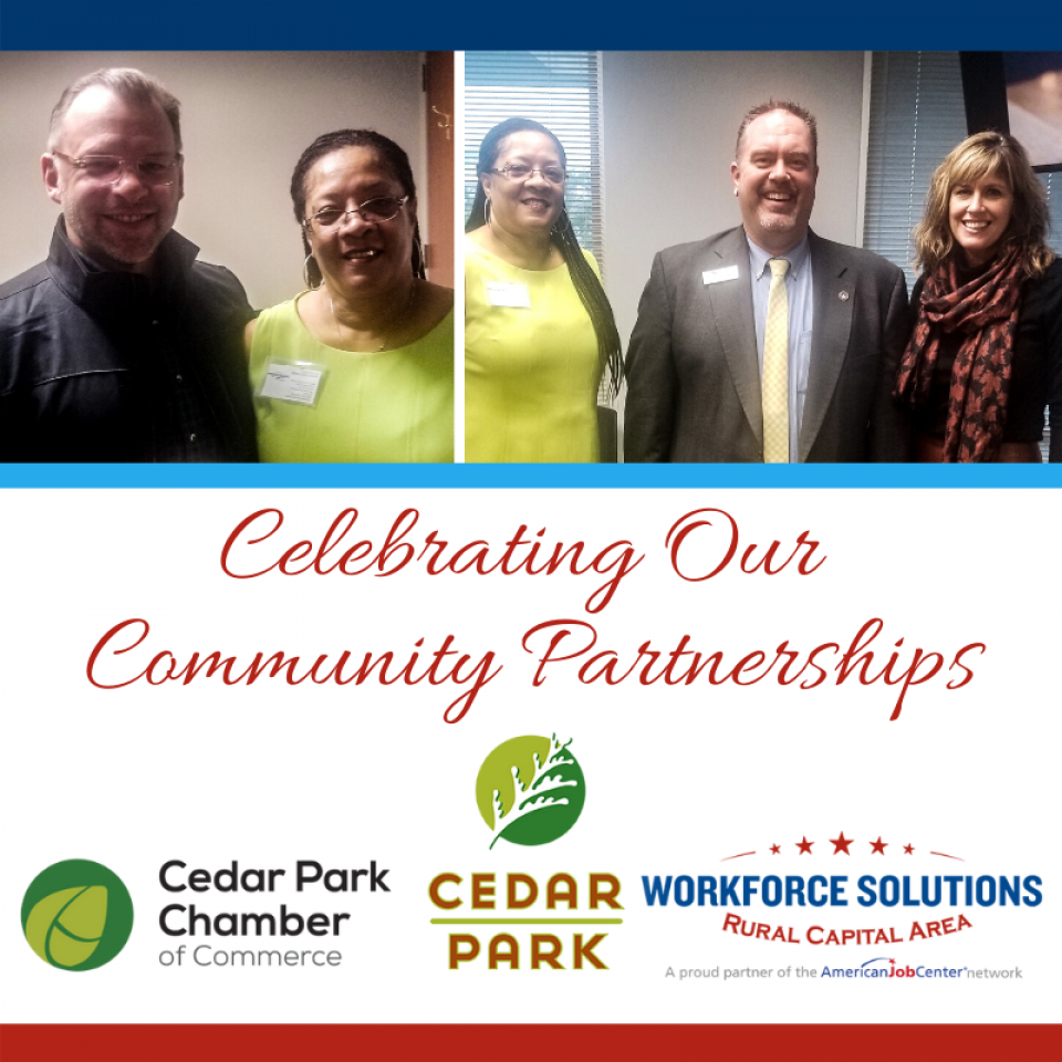 WSRCA Meets with Cedar Park Mayor, Council, Chamber Leaders at Community Event
