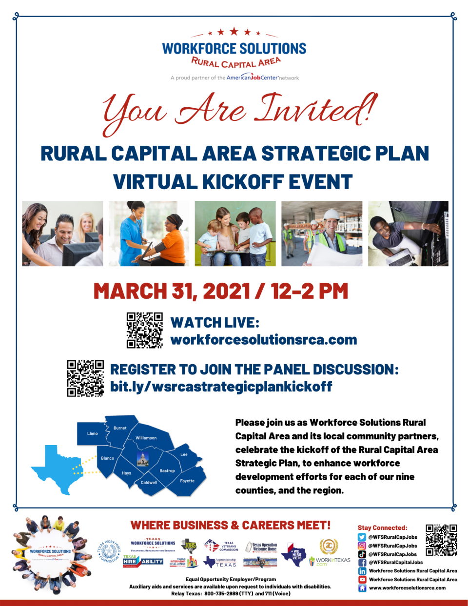 WSRCA to Host Live Strategic Plan Kickoff Event on March 31