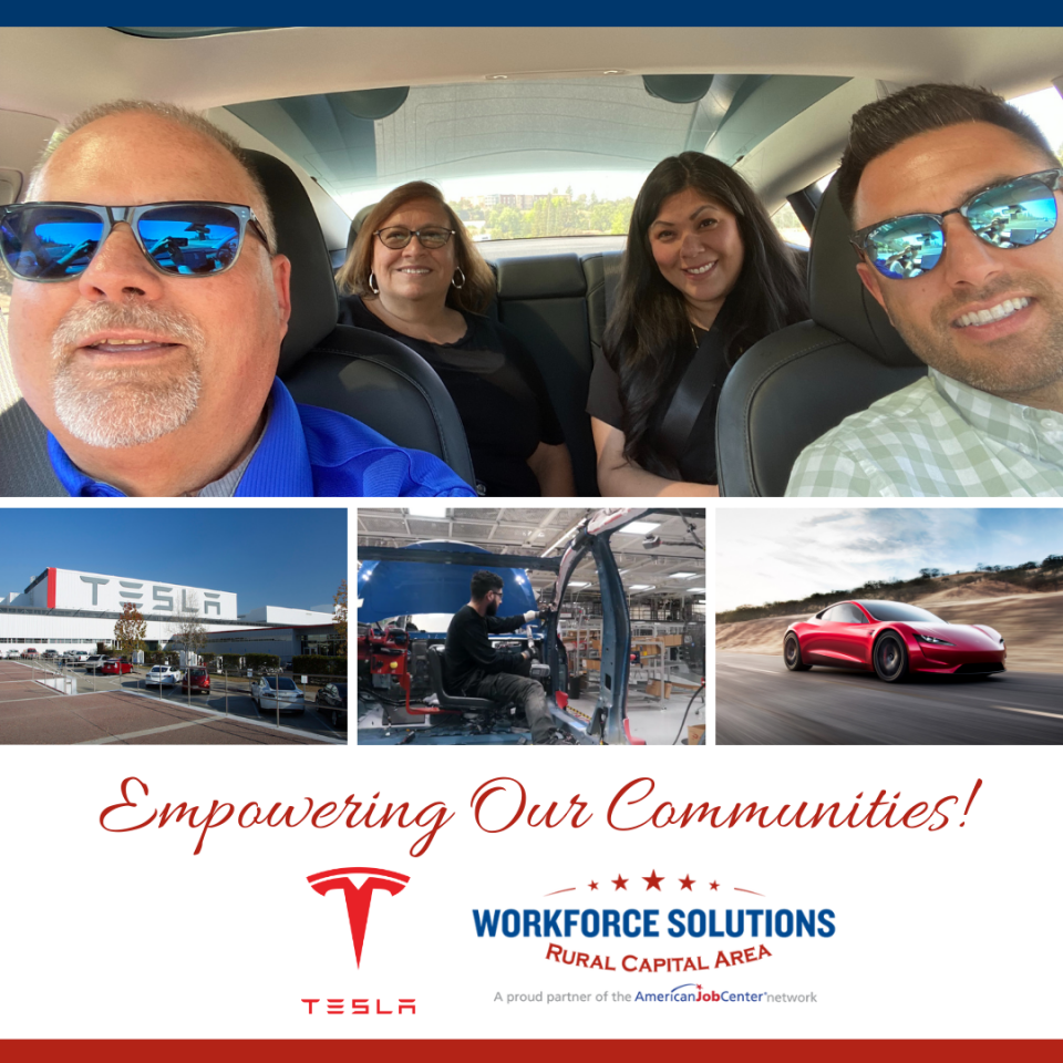 WSRCA, Partners Visit Tesla Operations in California, Nevada to Assess Workforce Needs Ahead of Automaker's Grand Opening of Austin Gigafactory