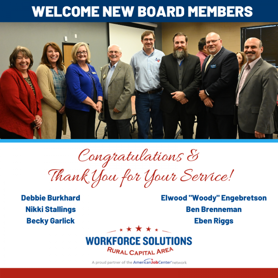 WSRCA Welcomes New Members to Board of Directors