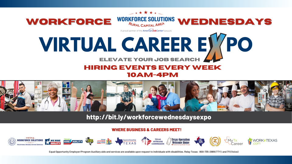 WSRCA Launches Revamped Workforce Wednesdays Virtual Career Expo Events Weekly